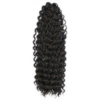 Beautiful Indian Human Hair Kinky Curl Hair Extension For Women Manufactures