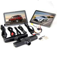 10.1 inch Capacitive Touch Screen Active Headrest DVD Player , Car Headrest Monitor Manufactures