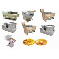 China Vegetable Processing French Fries Machine Electric Potato Fryer High Efficiency on sale