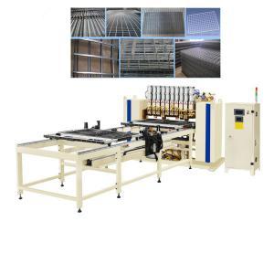China Vertical Wire Mesh Welding Machine , Condenser Welding Machine 1 Year Warranty on sale