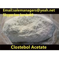 99% Purity Clostebol Acetate Turinabol CAS 855-19-6 For Building Muscle Manufactures