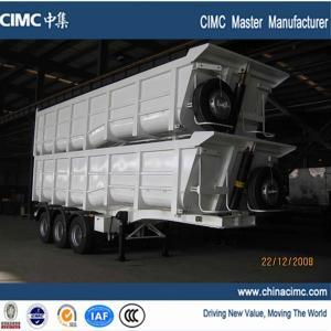 hot selling dump trailer , hydraulic dump trailer , tractor hydraulic dump trailer Manufactures