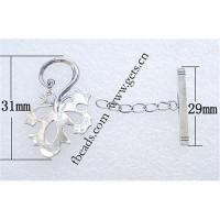 China Sterling silver toggle clasp on sale