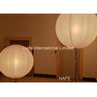 1.6 M Inflatable Lighting Decoration , Led Inflatable Balls 2x650W Tungsten Lamp Manufactures