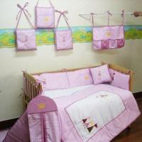 Baby Bedding Set, Made of 100 Percent Cotton Twill Fabric Manufactures