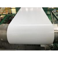 Durable Pre Painted Galvanized Coils Width 1200mm Thickness 0.18mm Corrosion Resistant Manufactures