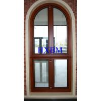 Soundproof Metal Clad Wood Windows , Security Internal Double Glazed Window Units Manufactures