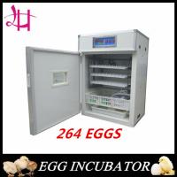Full Automatic Egg Incubator for Hatching 264 eggs Manufactures