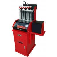 Auto Ultrasonic Carbon Remover Fuel Injector Cleaning Machine , 220v / 50 Hz,6 cylinders Manufactures