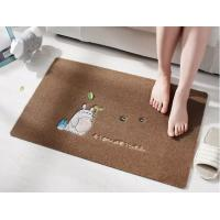 New High Quality Machine Made Door Mat Custom Eco-Friendly Floor Mat With  PVC Backing