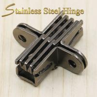Quality 39*13*17.5 mm Stainless Steel Concealed Hinges / Heavy Duty Concealed Hinges for sale