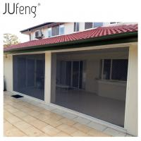 China Aluminum Alloy Profile Polyester Pleated Mesh Door Insect Screens on sale