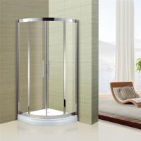 China Australian Standard Tempered Glass Sliding Door Glass Shower Enclosure with Stainless Steel Frame on sale