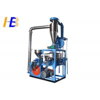 China Waste ABS Plastic Pulverizer Machine 10 - 80 Mesh Powder Size Available on sale