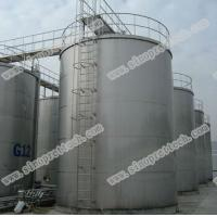 China stainless steel hot water or liquid storage tank on sale