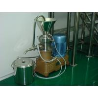 Small Stainless Steel Colloid Mill Machine With Advanced Rotator + Stator Manufactures