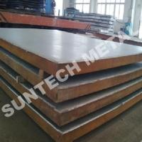 China Explosin Bonded Clad Plate B265 Gr2 / A516 Gr 70 Titanium / Steel Clad Square Plate on sale