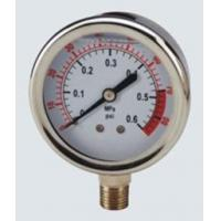Liquid Filled Pressure Gauge Oil Manufactures