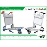High Strength Aluminum airport luggage carts with handle brake for passengers Manufactures