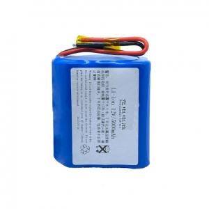 Custom 12V 5000mAh Rechargeable Lithium Battery Packs Manufactures