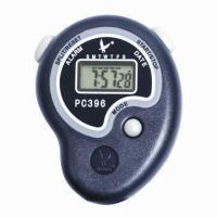 China Lap/split simple digital sports stopwatch, made of ABS  on sale