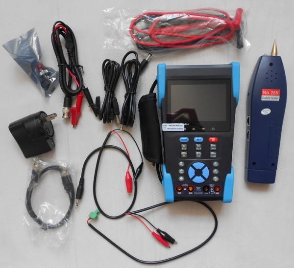 """Quality 3.5"""" TFT-LCD CCTV IP Camera Tester , Optical Power Meter , TDR Test , Digital Multimeter for sale"""
