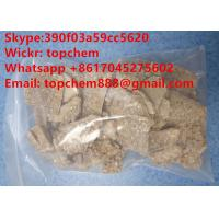 China Light Brown Tan EU Eutylone Crystal Research Chemical Crystal Synthetic Stimus Eu Cas No 802855-66-9 on sale