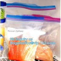 double track reclosable zip lock bag, double-track zipper closure, slide seal reclosable poly bags, package double track Manufactures