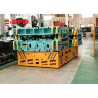 Indoor / Outdoor Trackless Transfer Cart Bogie Unlimited Running Distance Manufactures