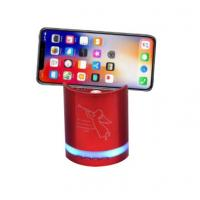 New Design mobile phone holder outdoor speaker with LED blue tooth sound bar Manufactures
