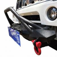 Jimny Angry winch front bumper 4x4 Steel Winch Bumper for Jimny 4x4 auto front bumper for Jimny Sport bumper Manufactures