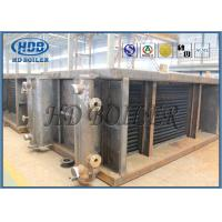 Industrial Stainless Steel Power Station Economizer , Coal Fired  Energy Saving System Manufactures