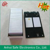 New type plastic inkjet pvc id card tray Manufactures