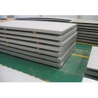 China 321 Stainless Steel Plate BA 8K 6K Bright Surface DIN / EN Standard For Construction on sale