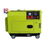 Top Mounted Fuel Tank Diesel Generator 5KW Portable Low Operating Temperature Manufactures