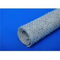 Anti Bacteria Felt Underlay / Nonwoven Fabric Base Cloth with Dots Manufactures