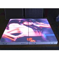 P6.25mm LED Dance Floor Tiles , Full HD SMD3528 Waterproof LED Screen Manufactures