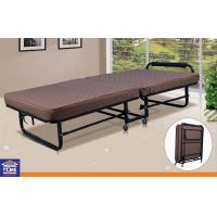 Space Saving Painting Guest Portable Folding Bed Home Furniture Single Size Manufactures
