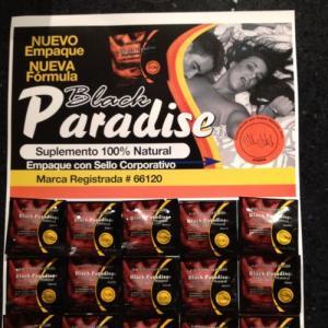 Black Paradise sex medicine for men penis enlargement pills Manufactures