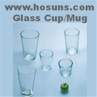 China Glass cups / mugs on sale