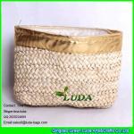 LUDA new design elegant women corn hust straw clutch bag fashion handbag Manufactures