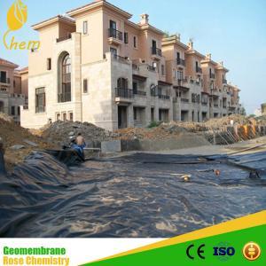 China HDPE black rolls geomembrane on sale