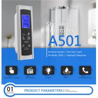 China AC 12V Touch Screen Shower Control , Shower Control Panel Dimension 6.7*20.1cm on sale