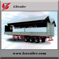 China utility cargo box trailer for electric appliance/textile goods/coal/dinas transportation wholesale