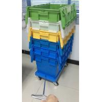 3 Inches Four PU Wheels Plastic Stacking Dolly Rudder Moving Customized Manufactures