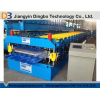 Hydraulic Uncoiler Machine Roof Panel Roll Forming Machine with PLC Vector Inverter Control System Manufactures