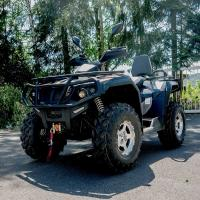 Single Cylinder Four Wheel ATV 400cc 4 Wheeler Quads With 4*4 F/R Independent Suspension Manufactures