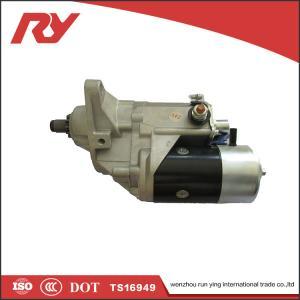 All Terrain Crane Truck Starter Motor , High Torque Starter Motor 024000-3040 Manufactures
