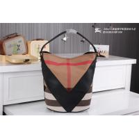 China Wholesale 2014 New designer fashionable womens b-urberry women leather grid branded bags on sale