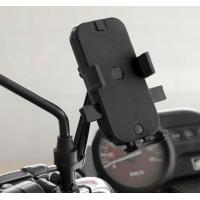 Automatic Locking Motorcycle Cell Phone Holder With Waterproof Cover Dual Usb Motorcycle Cell Phone Charger Manufactures